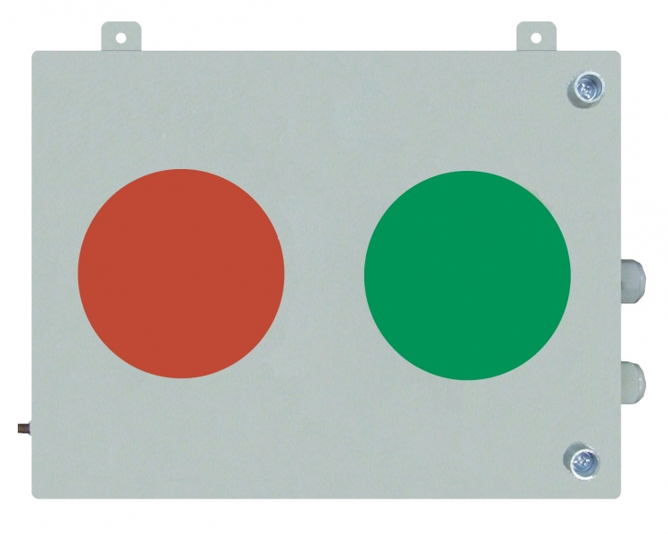 Sn1-2 TWO-ASPECT RAILROAD LIGHT SIGNAL